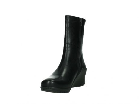 wolky mid calf boots 03876 newtok 30000 black leather_9