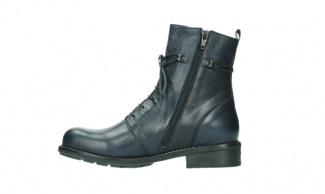 wolky mid calf boots 04432 murray 20800 blue leather_13