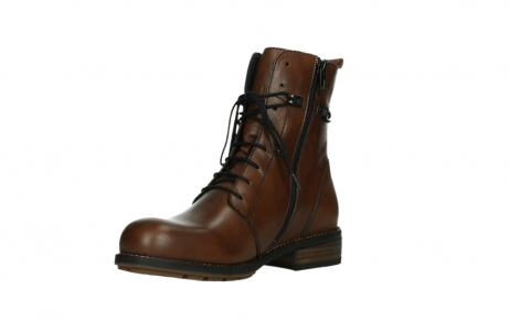 wolky mid calf boots 04438 murray cw 20430 cognac leather cold winter warm lining_10