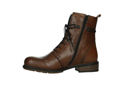 wolky mid calf boots 04438 murray cw 20430 cognac leather cold winter warm lining_12