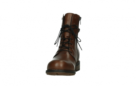 wolky mid calf boots 04438 murray cw 20430 cognac leather cold winter warm lining_8