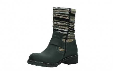 wolky mid calf boots 04479 thor 19000 black nubuck_10