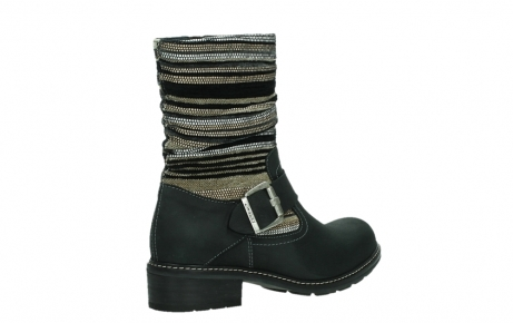 wolky mid calf boots 04479 thor 19000 black nubuck_22