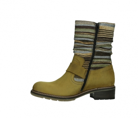 wolky mid calf boots 04479 thor 19940 mustard nubuckleather_12