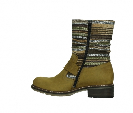 wolky mid calf boots 04479 thor 19940 mustard nubuckleather_14