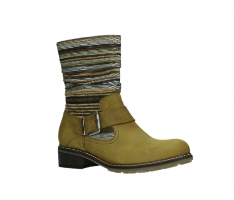 wolky mid calf boots 04479 thor 19940 mustard nubuckleather_3