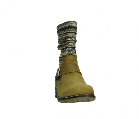 wolky mid calf boots 04479 thor 19940 mustard nubuckleather_6