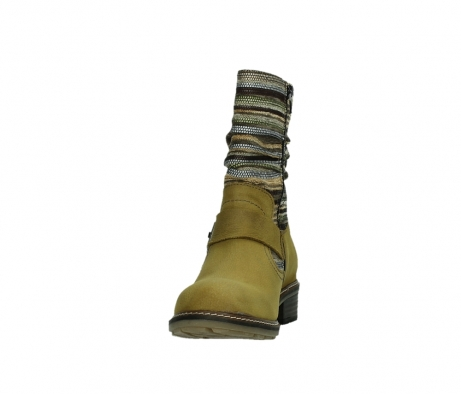 wolky mid calf boots 04479 thor 19940 mustard nubuckleather_8