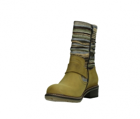 wolky mid calf boots 04479 thor 19940 mustard nubuckleather_9