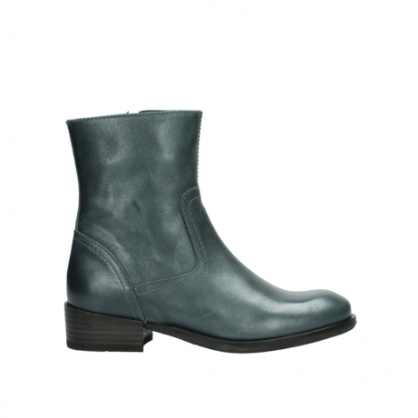 wolky mid calf boots 04514 assam 30283 metal graca leather