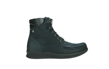 wolky lace up boots 05904 four 10875 blue winter stretch nubuck_1