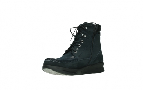 wolky lace up boots 05904 four 10875 blue winter stretch nubuck_10