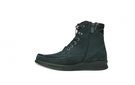 wolky lace up boots 05904 four 10875 blue winter stretch nubuck_12