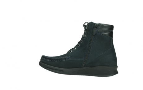 wolky lace up boots 05904 four 10875 blue winter stretch nubuck_14