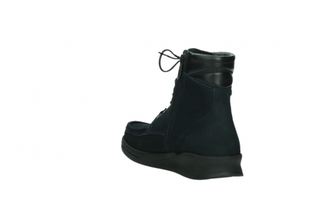 wolky mid calf boots 05904 four 10875 blue winter stretch nubuck_17