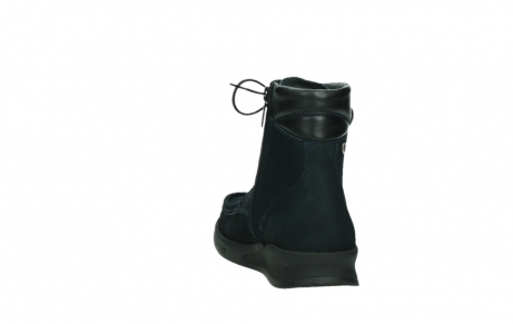 wolky mid calf boots 05904 four 10875 blue winter stretch nubuck_18