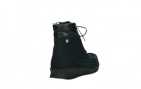 wolky lace up boots 05904 four 10875 blue winter stretch nubuck_21
