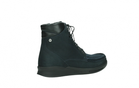 wolky lace up boots 05904 four 10875 blue winter stretch nubuck_23
