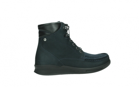 wolky lace up boots 05904 four 10875 blue winter stretch nubuck_24