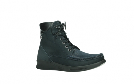 wolky lace up boots 05904 four 10875 blue winter stretch nubuck_3