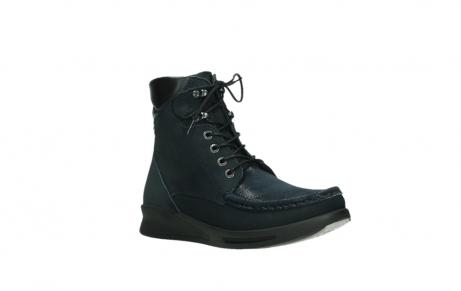 wolky lace up boots 05904 four 10875 blue winter stretch nubuck_4