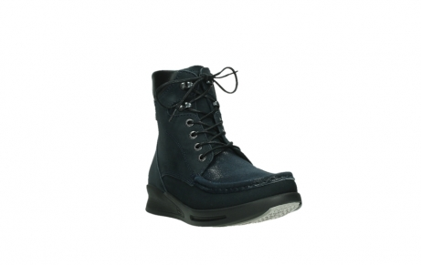 wolky lace up boots 05904 four 10875 blue winter stretch nubuck_5