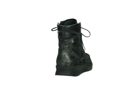 wolky mid calf boots 05904 four 46280 metal combi metallic stretch suede_20