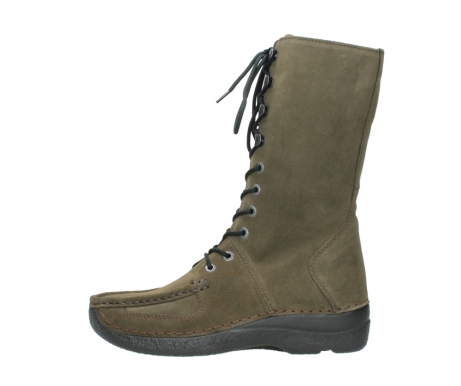 wolky mid calf boots 06210 roll fashion 40155 taupe suede_1