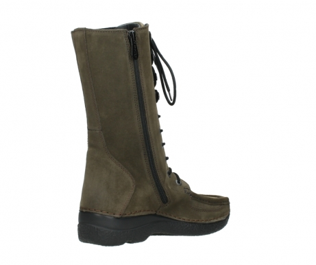 wolky mid calf boots 06210 roll fashion 40155 taupe suede_10
