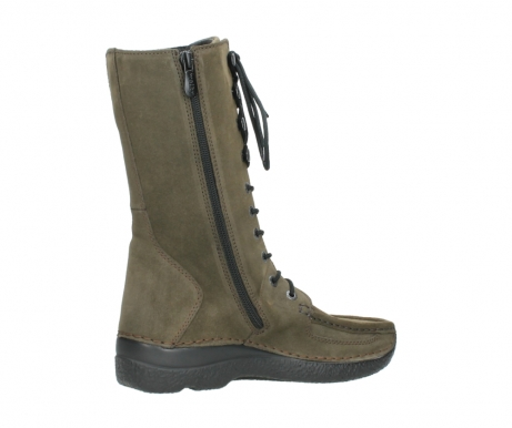 wolky mid calf boots 06210 roll fashion 40155 taupe suede_11