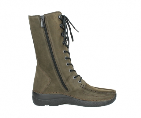 wolky mid calf boots 06210 roll fashion 40155 taupe suede_13