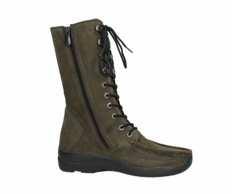 wolky mid calf boots 06210 roll fashion 40155 taupe suede_14