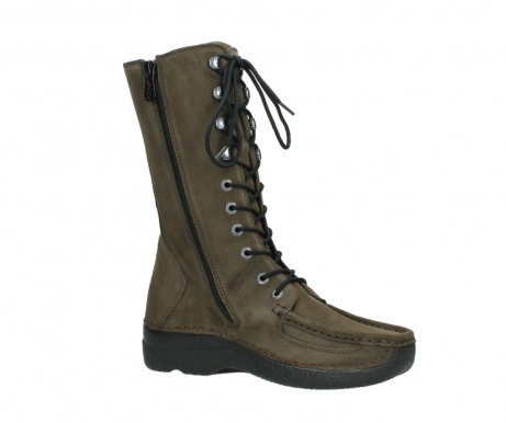 wolky mid calf boots 06210 roll fashion 40155 taupe suede_15