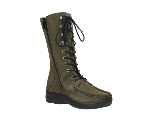 wolky mid calf boots 06210 roll fashion 40155 taupe suede_16