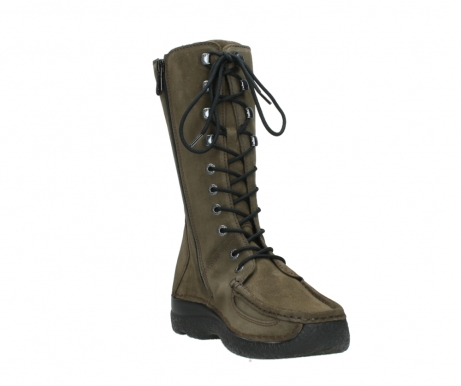 wolky mid calf boots 06210 roll fashion 40155 taupe suede_17