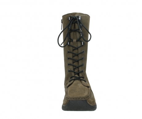 wolky mid calf boots 06210 roll fashion 40155 taupe suede_19