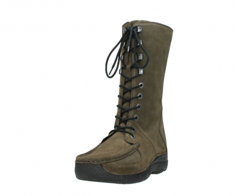 wolky mid calf boots 06210 roll fashion 40155 taupe suede_21