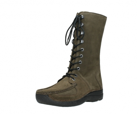 wolky mid calf boots 06210 roll fashion 40155 taupe suede_22