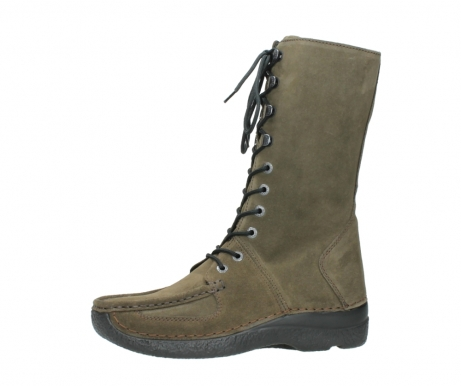 wolky mid calf boots 06210 roll fashion 40155 taupe suede_24