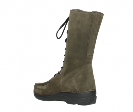 wolky mid calf boots 06210 roll fashion 40155 taupe suede_4