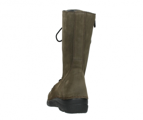 wolky mid calf boots 06210 roll fashion 40155 taupe suede_6