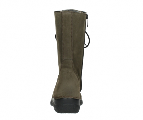 wolky mid calf boots 06210 roll fashion 40155 taupe suede_7