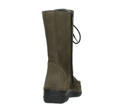 wolky mid calf boots 06210 roll fashion 40155 taupe suede_8