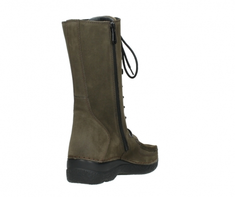 wolky mid calf boots 06210 roll fashion 40155 taupe suede_9