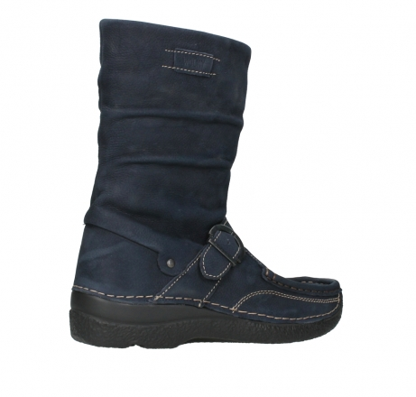 wolky mid calf boots 06267 roll jacky 11800 blue nubuck_23
