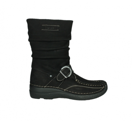 wolky mid calf boots 06267 roll jacky 50000 black oiled leather_1