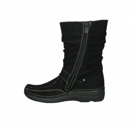wolky mid calf boots 06267 roll jacky 50000 black oiled leather_13