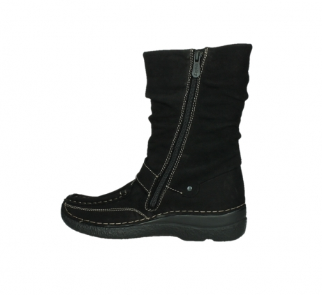 wolky mid calf boots 06267 roll jacky 50000 black oiled leather_14