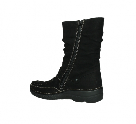 wolky mid calf boots 06267 roll jacky 50000 black oiled leather_15