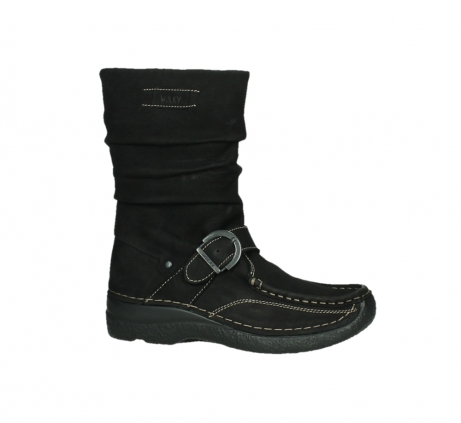 wolky mid calf boots 06267 roll jacky 50000 black oiled leather_2